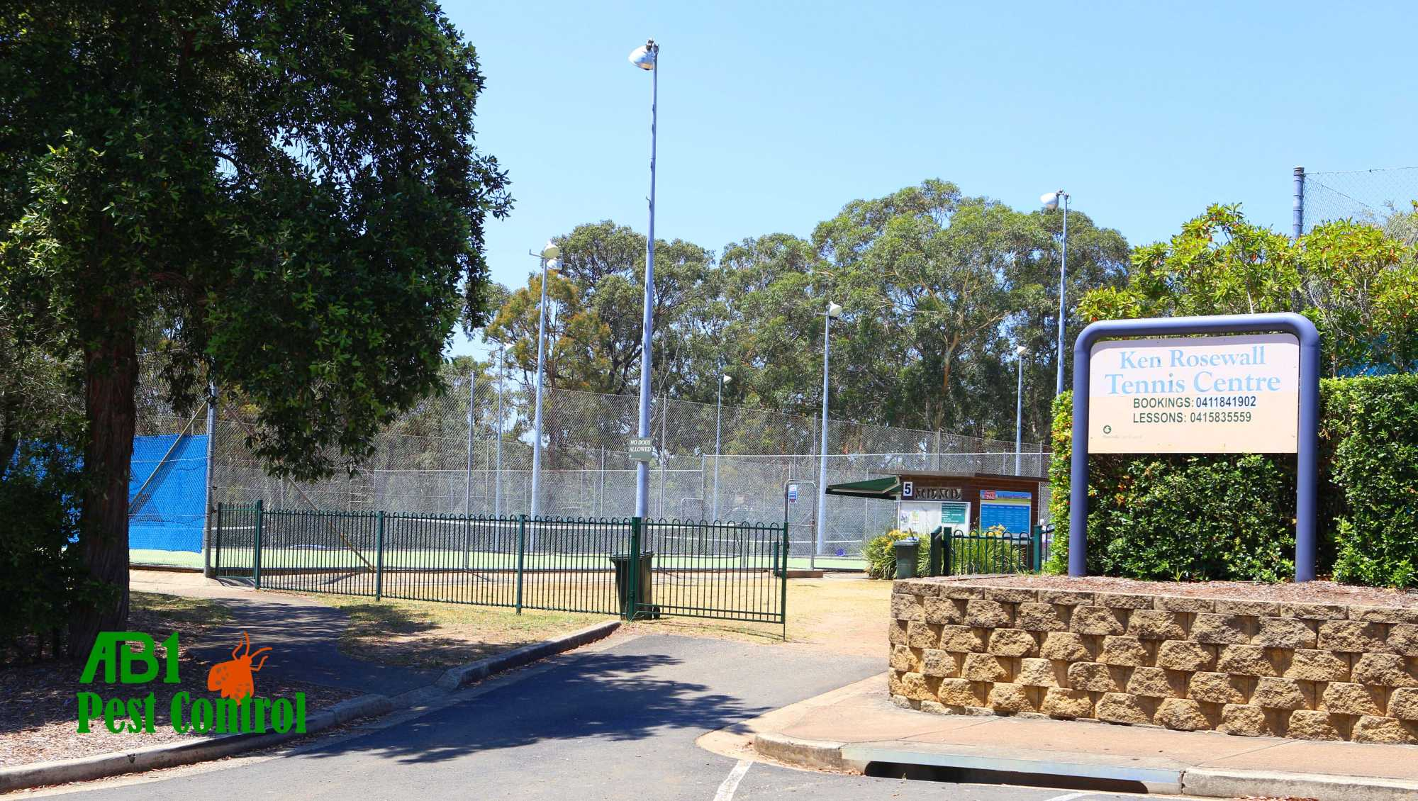 Ken Rosewall Tennis Courts Mortdale
