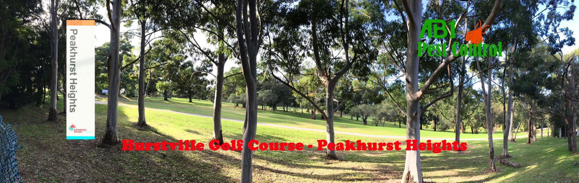 Hurstville Golf Course Peakhurst Heights
