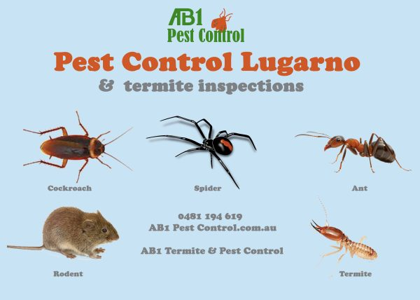 Lugarno Pest Control Identification Card